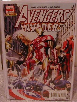 AVENGERS INVADERS #2 NM(2008)