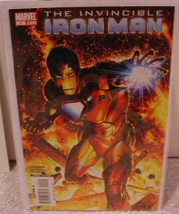 INVINCIBLE IRON MAN #2 NM(2008) �B� COVER