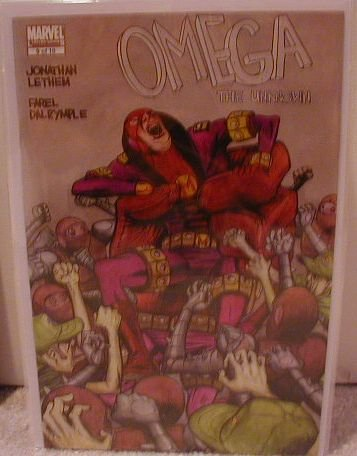 OMEGA THE UNKNOWN #9 NM(2008)