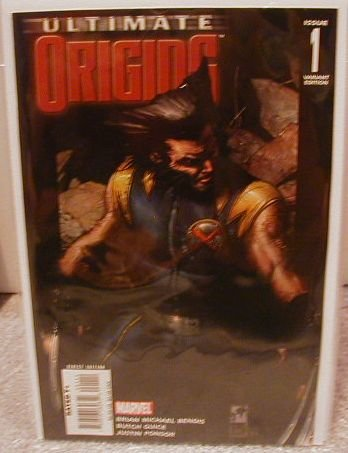 ULTIMATE ORIGINS #1 NM(2008) VARIANT COVER 1ST PRINT