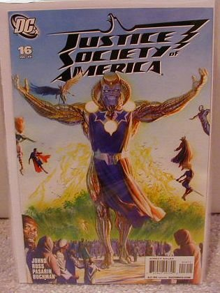 JUSTICE SOCIETY OF AMERICA #16 NM(2008)