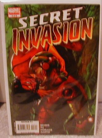 SECRET INVASION #3 NM(2008)