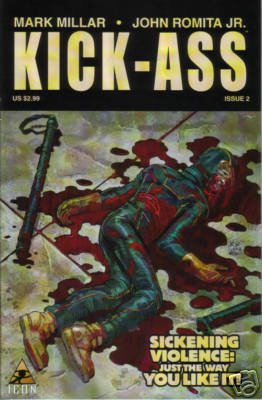KICK-ASS #2 NM     HOT NEW SERIES! BACK IN STOCK