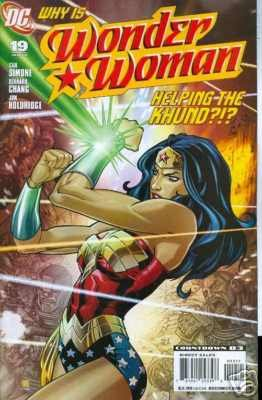 WONDER WOMAN #19 NM (2008)