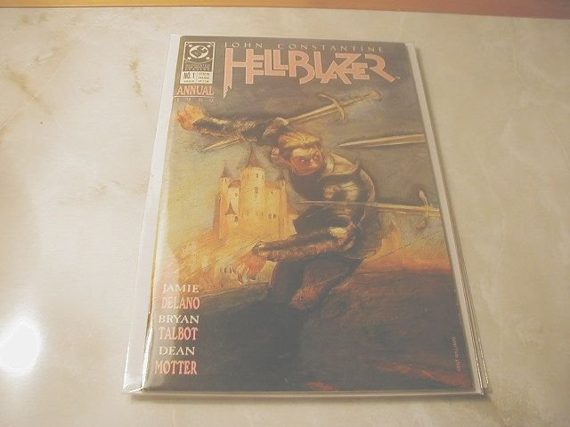 HELLBLAZER ANNUAL #1  VF/NM