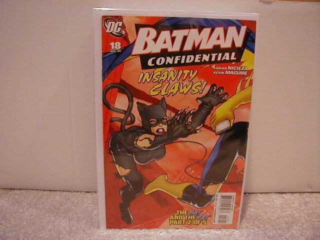 BATMAN CONFIDENTIAL #18 NM (2008)