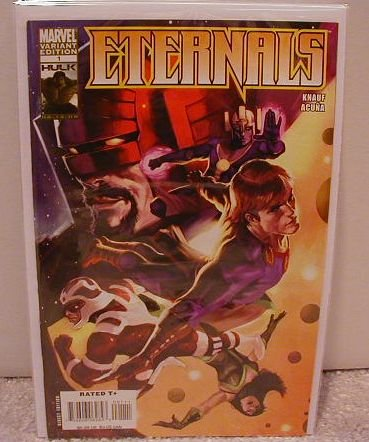 ETERNALS  #1 NM (2008) VARIANT 1ST PRINT