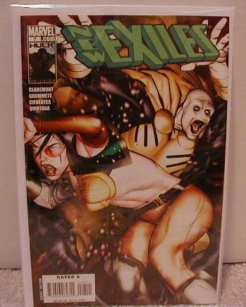 NEW EXILES #7 NM (2008)