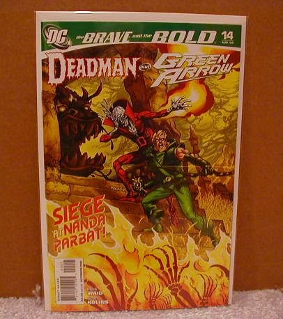 BRAVE AND THE BOLD #14  NM(2008) DEADMAN AND GREEN ARROW