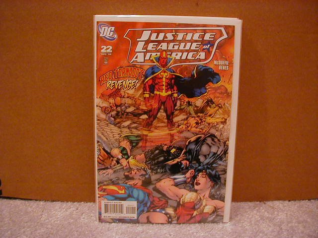 JUSTICE LEAGUE OF AMERICA #22 NM (2008)