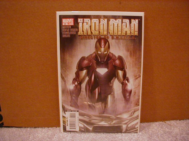 IRON MAN DIRECTOR OF SHIELD #30 NM (2008)