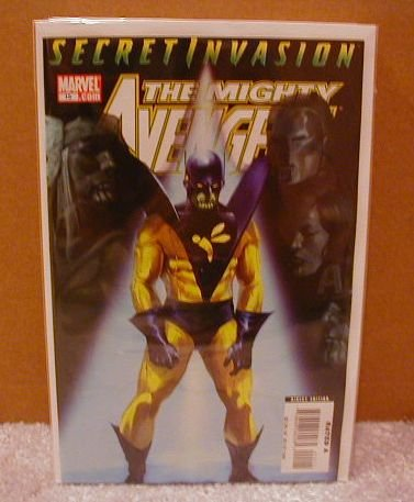 MIGHTY AVENGERS #15 NM(2008) SECRET INVASION