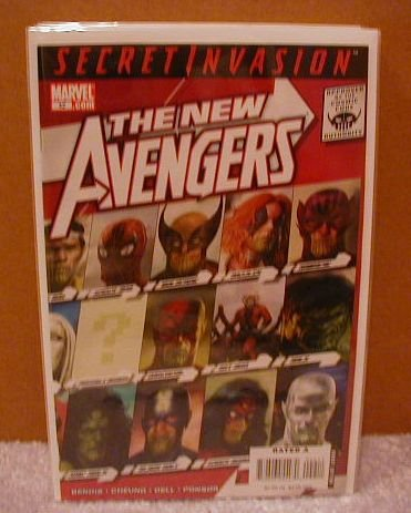 NEW AVENGERS #42 NM(2008) SECRET INVASION