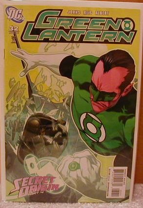 GREEN LANTERN #32 NM(2008)SECRET ORIGIN