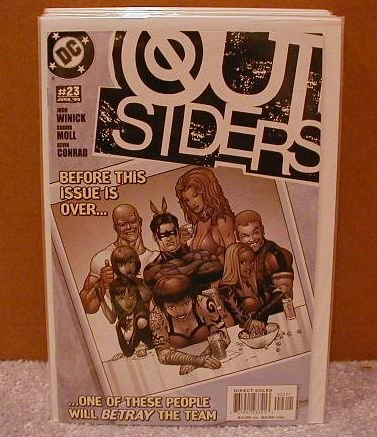 OUTSIDERS #23 NM(2003)