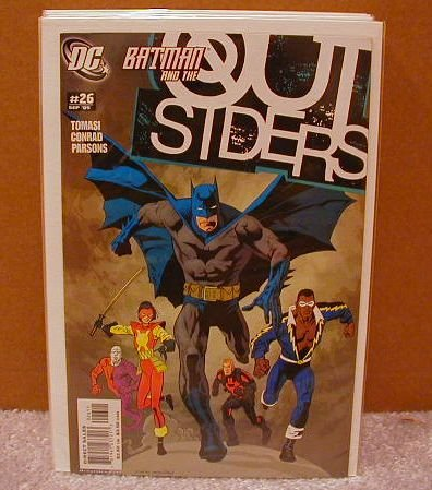 OUTSIDERS #26 NM(2003) BATMAN