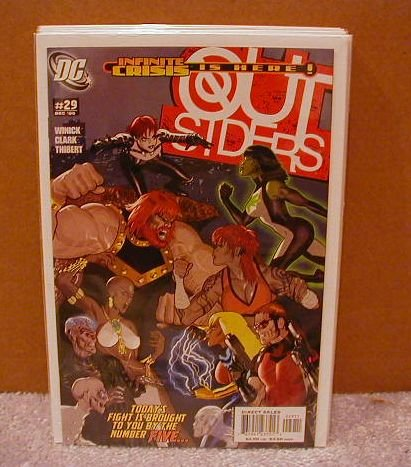 OUTSIDERS #29 NM(2003)INFINITE CRISIS