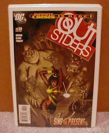 OUTSIDERS #30 NM(2003)INFINITE CRISIS