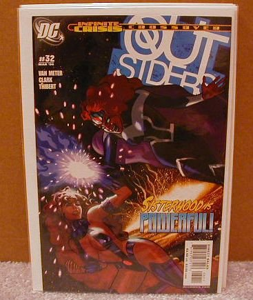 OUTSIDERS #32 NM(2003) INFINITE CRISIS
