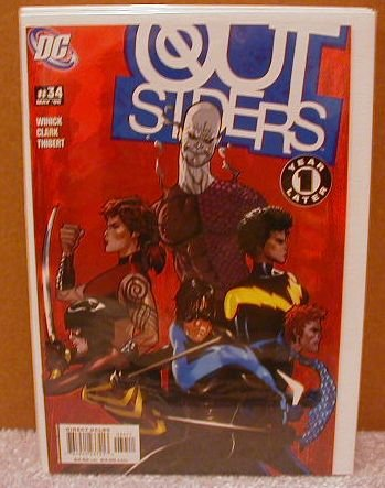 OUTSIDERS #34 NM(2003) YEAR ONE