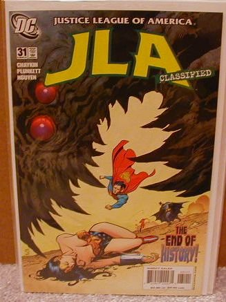 JLA CLASSIFIED #31 NM(2004)