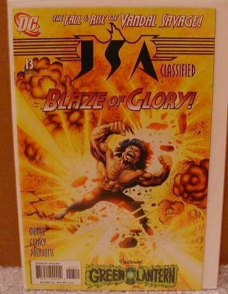 JSA CLASSIFIED #13 NM(2005)