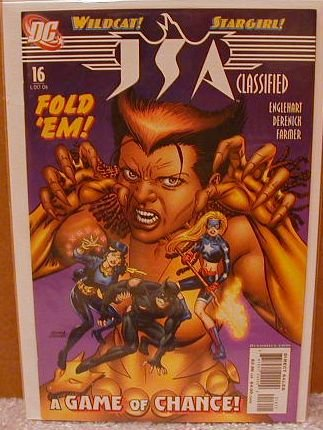 JSA CLASSIFIED #15 NM(2005)