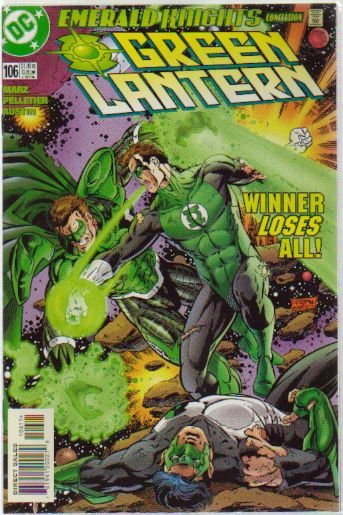 GREEN LANTERN #106 NM(2000) PARALLAX