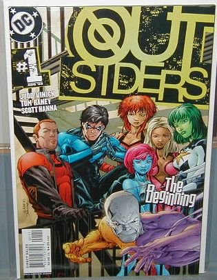 OUTSIDERS #1 NM (2003)