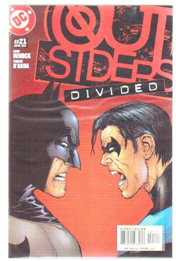 OUTSIDERS #21 NM (2003) BATMAN VS. NIGHTWING