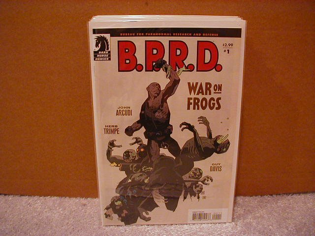 B.P.R.D. WAR ON FROGS #1 NM (2008) DARK HORSE COMICS