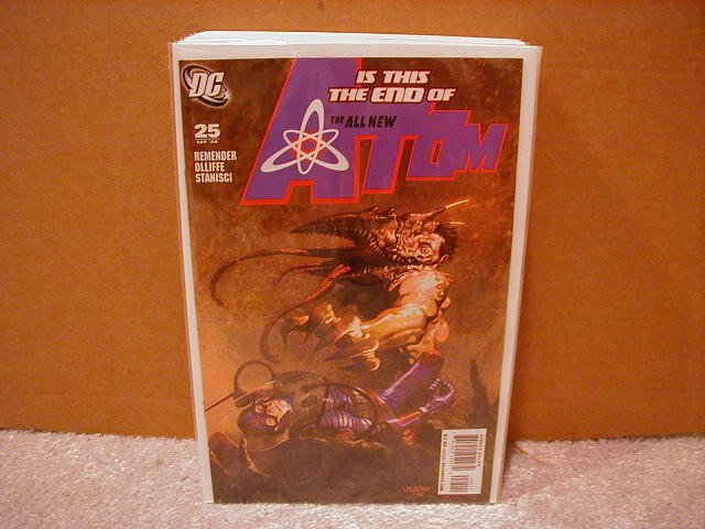 ALL NEW ATOM #25 NM (2008)