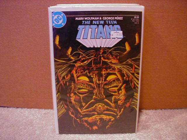 NEW TEEN TITANS #5 VF/NM(1984)