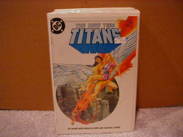 NEW TEEN TITANS #7 VF/NM(1984)