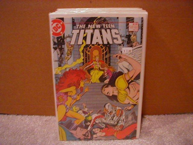 NEW TEEN TITANS #8 VF/NM(1984)