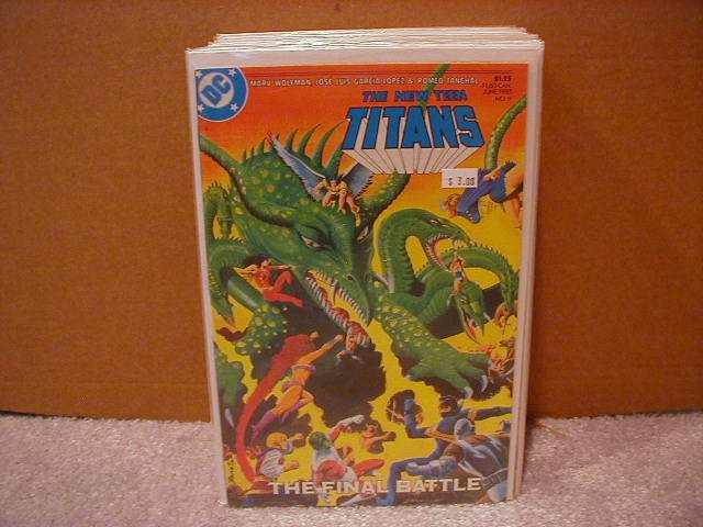 NEW TEEN TITANS #9 VF/NM(1984)
