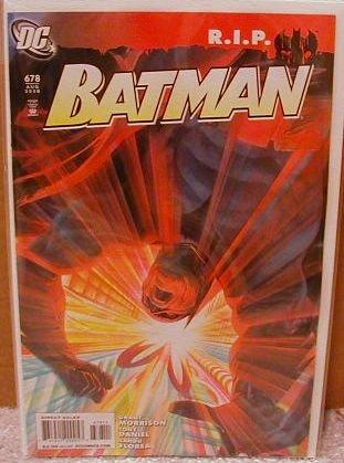 BATMAN #678 NM (2008) R.I.P.