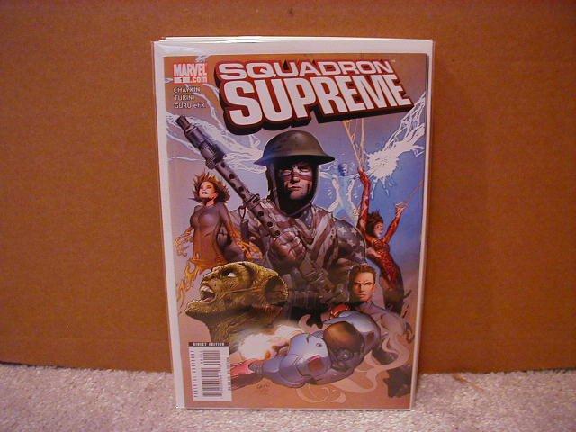 SQUADRON SUPREME #1 NM (2008)