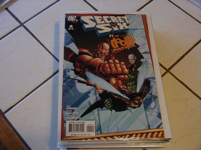 SECRET SIX #4 NM (2006)