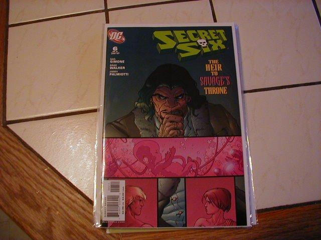 SECRET SIX #6 NM (2006)