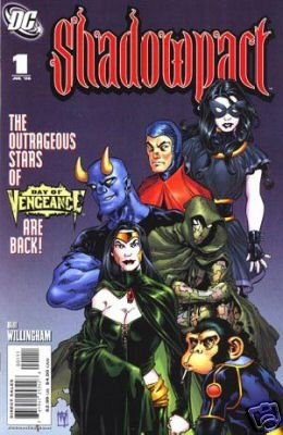 SHADOWPACT #1 NM (2006)