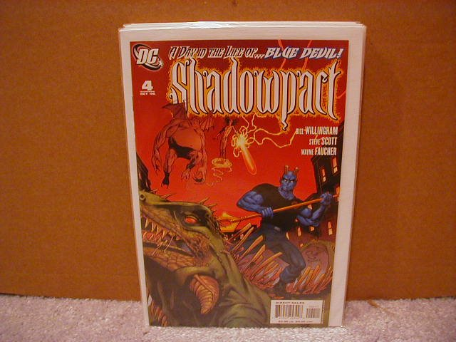 SHADOWPACT #4 NM (2006)