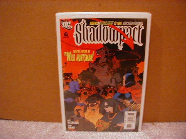 SHADOWPACT #6 NM (2006)