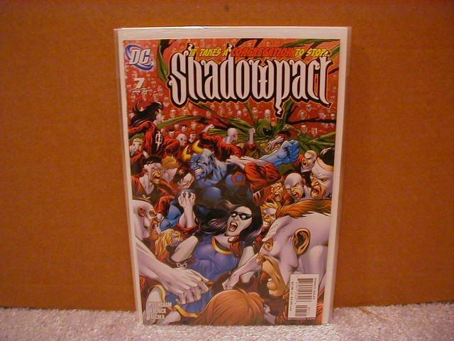 SHADOWPACT #7 NM (2006)
