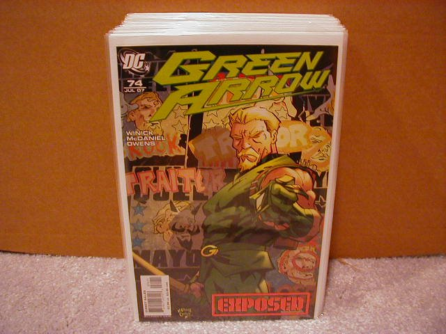 GREEN ARROW #74 NM (2007)