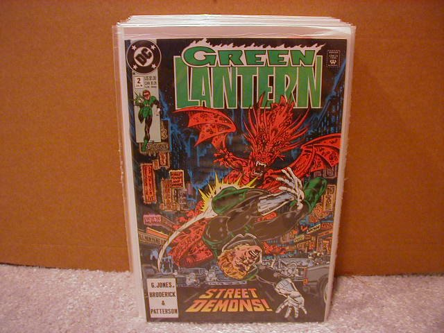 GREEN LANTERN #2 NM (1990)