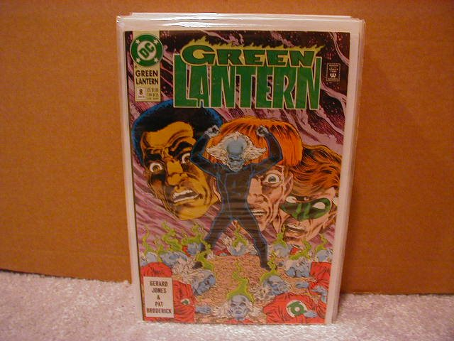 GREEN LANTERN #8 NM (1990)