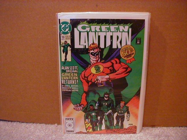 GREEN LANTERN #19 NM (1990)