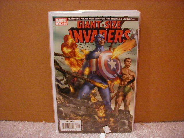 GIANT SIZE INVADERS #2 NM (2008)