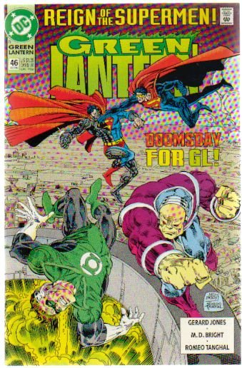 GREEN LANTERN #46 NM (1990) REIGN OF THE SUPERMEN
